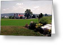 Country Views Greeting Card