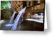 Country Waterfall Greeting Card