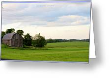 Countryside Charm Greeting Card