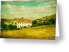 Countryside Homestead Greeting Card