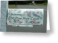 Countryside Mailbox #22 Greeting Card