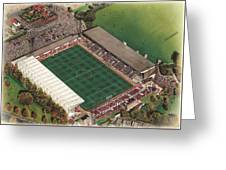 County Ground - Swindon Town Greeting Card