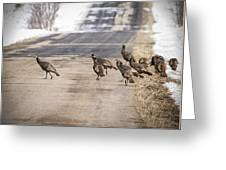 County Road Crew Greeting Card