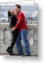 Couple Laughing Greeting Card