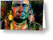 Courage Chief Joseph Greeting Card