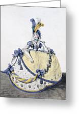 Court Dress, Fig. 106 From The Gallery Greeting Card