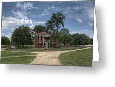 Courthouse At Appomattox Court House Greeting Card by Stephen Gray