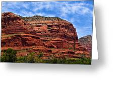 Courthouse Butte Rock Formation Sedona Arizona Greeting Card