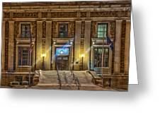 Courthouse Steps Greeting Card