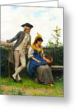 Courtship Greeting Card