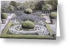 Courtyard Garden Greeting Card