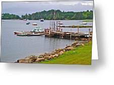 Cove In Glen Margaret-ns Greeting Card