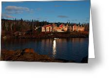 Cove Point Lodge Greeting Card