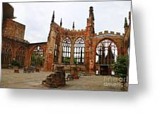 Coventry Cathedral 6003 Greeting Card
