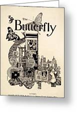 Cover Of The Butterfly Magazine Greeting Card