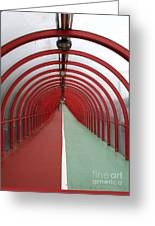 Covered Walkway 01 Greeting Card