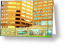 Covington Kentucky View From The Ferry Greeting Card
