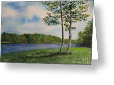 Cowan Lake Greeting Card