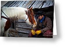 Cowboy Blues Greeting Card
