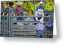 Cowboy Countdown Greeting Card