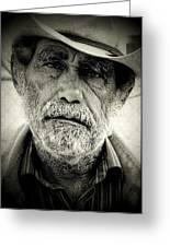 Cowboy Immokalee Fl Greeting Card