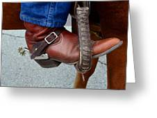 Cowboy Swagg Greeting Card by Kelly Kitchens