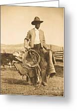 Cowboy Up Greeting Card