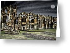 Cowdry Ruins Greeting Card