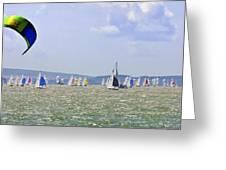 Cowes Week Isle Of Wight Greeting Card