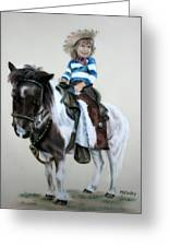 Cowgirl Dee Greeting Card