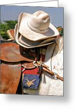 Cowgirl Hats Greeting Card