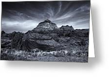 Coyote Buttes Cloud Explosion Greeting Card