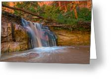Coyote Gulch Falls Greeting Card
