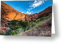 Coyote Gulch Sunset - Utah Greeting Card