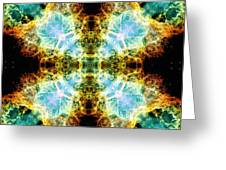 Crab Nebula V Greeting Card