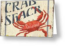Crab Shack Greeting Card