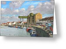 Crabbing - Wells-next-the-sea Norfolk Greeting Card