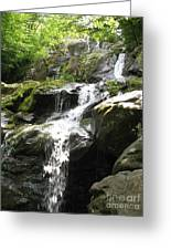 Crabtree Waterfall  Greeting Card