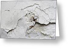 Cracked Stucco - Grunge Background Greeting Card