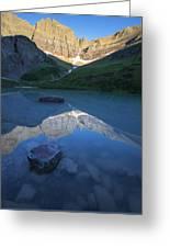 Cracker Lake Greeting Card
