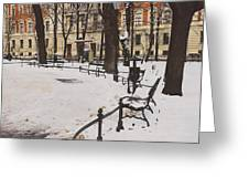Cracow Park Greeting Card