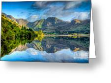Craf Nant Lake Greeting Card