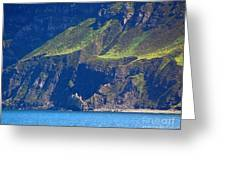 Craggy Coast 7 Greeting Card