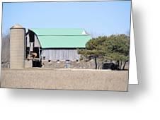 Craggy Old Barn Greeting Card