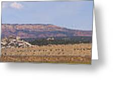 Craig Colorado Panorama Greeting Card