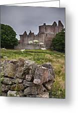 Craigmillar Castle Ruin Greeting Card
