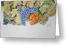 Cran-grapes Greeting Card