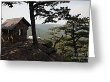Cranny Crow Overlook At Lost River State Park Greeting Card