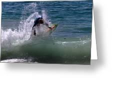 Wave Crashing Greeting Card