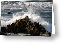 Crashing Wave Greeting Card